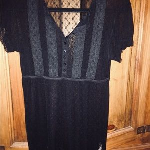 Gorgeous Free People lace babydoll dress